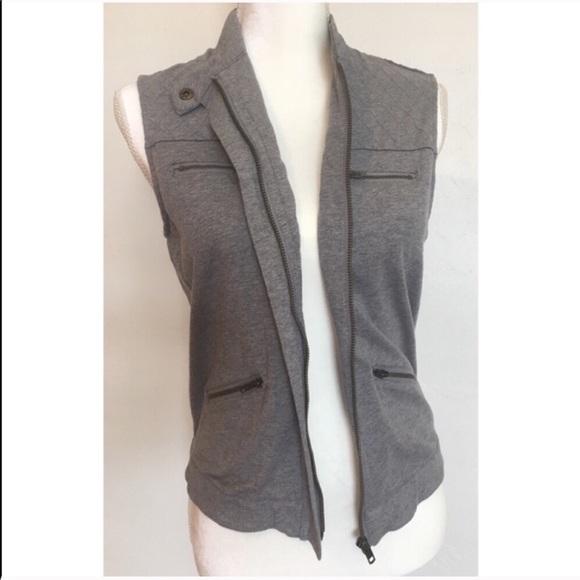 Xhilaration Jackets & Blazers - 🛑Xhilaration Gray Vest Size M